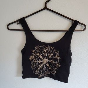 Out From Under Zodiac Astrology Crop Tank